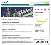 Xing-unternehmensprofile-s in XING Unternehmensprofile individuell gestalten