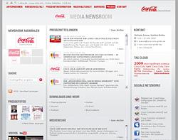Online-social-media-newsroom in Trend zu Online PR und Online Newsroom